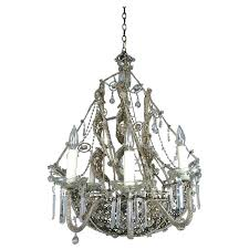 chandeliers pirate ship chandelier french crystal beaded circa junk gypsy