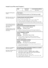 sample lesson plan outline sample lesson plan format wow com image results education