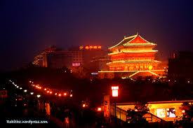 7 Days Inn Xian Bell Tower Brach The Bell Tower And The Drum Tower Of Xian My Life
