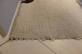 carpet to tile transition repair