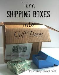 Gift Cardboard Boxes Turn Shipping Boxes Into Gift Boxes Totally Green Crafts