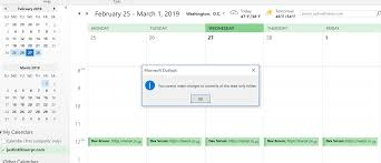 Google Calendar Synced To Outlook Cant Add Or Modify Events