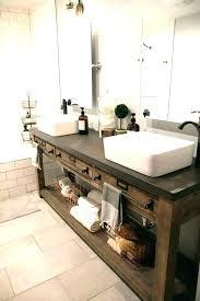 rustic bathroom double vanities.  Rustic Modern Rustic Vanity Bathroom Tile  Mirrors Size Of Sink Vanities   Inside Rustic Bathroom Double Vanities M