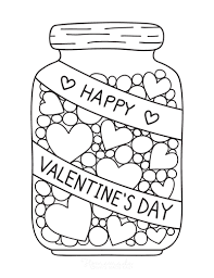 Add a sweet treat or a small gift to easily turn these cards into adorable classroom. 50 Free Printable Valentine S Day Coloring Pages