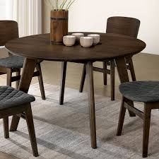 Modern Round Kitchen Table Extendable Dining Round Marvelous Round