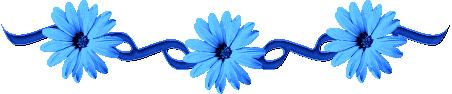 """Résultat de recherche d'images pour """"Fleur bleu barre de séparation"""""""
