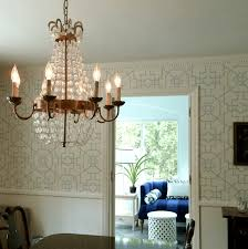 but for most dining rooms with an 8 or 9 foot ceiling a chandelier with a diameter from 24 to 29 is pretty safe