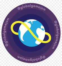 ggj16 round logo with twitter handle global game jam 2019 hd png