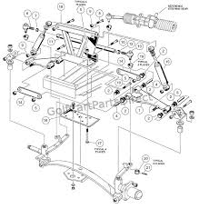 1997 club car gas ds or electric club car parts & accessories fuel system of diesel engine at Car Gas Diagram