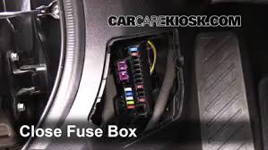 interior fuse box location 2014 2016 mazda 6 2015 mazda 6 sport 5 test component secure the cover and test component 6