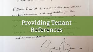 7 Tips For Providing Tenant References [Free Template]