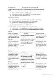 esl ecce revision writing smoking letter essay worksheets ecce writing revision worksheet