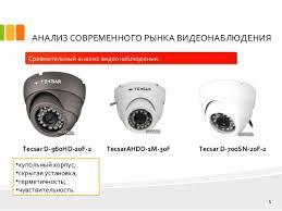 дипломная презентация по проектированию системы видеонаблюдения 5 АНАЛИЗ СОВРЕМЕННОГО РЫНКА ВИДЕОНАБЛЮДЕНИЯ
