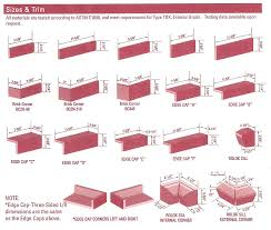 size of a brick brick vector picture brick sizes