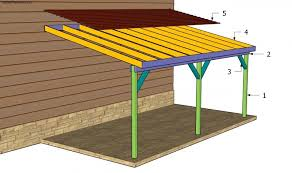 Wood Pdf Carport Designs Attached House Floor Plans  Building Attached Carport Designs