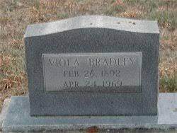 Viola McSwain Bradley (1892-1969) - Find A Grave Memorial