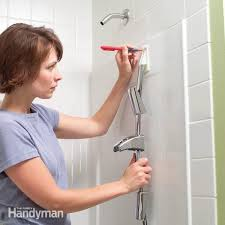 how to install towel bars and hooks on fiberglass tub and shower surrounds