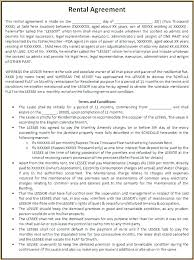 Lease Agreement Example Home Lease Agreement Template Nj Apartment Rental