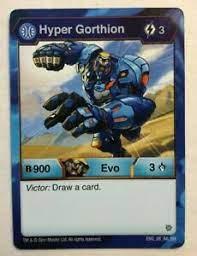 Add rare cards to your collection: Hyper Gorthion Rare Bakugan Card Eng 88 Ra Br Ebay