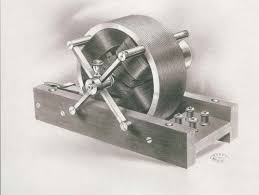 above one of the original tesla electric motors from 1888 which is today main power for industry and household appliances teslau0027s motor first electric motor g87 first