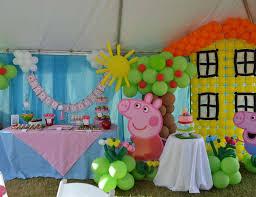 First Birthday Peppa Pig Theme For Boy Girl