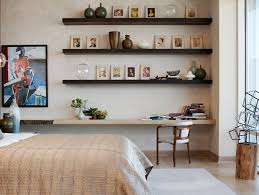 floating wall shelves kitchen traditional with arched transom