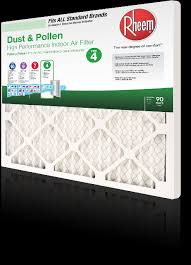 Filters How To Select An Air Filter For Your Home Rheem