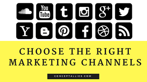 Marketing Channels 4 Steps How To Choose The Right Digital Marketing Channels