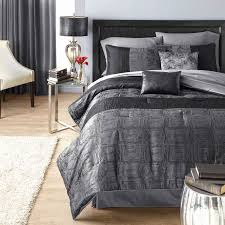 hometrends crocodile black king comforter set image 1 of 1 zoomed image