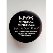 Минеральная пудра <b>NYX</b> рассыпчатая Mineral Matte Finishing ...