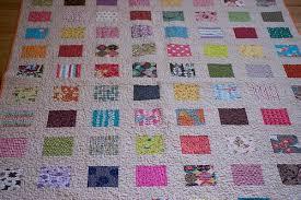 charm square quilt - check! - dontcallmebecky &  Adamdwight.com