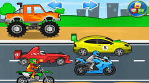 Learn Sports Cars Monster Truck Sports Car Racing Car