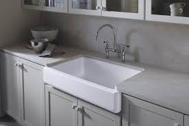 kohler k 6488 0 whitehaven self t a front single basin sink with short a white single bowl sinks com