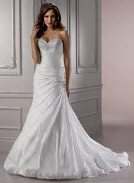 fit and flare wedding dresses with sweetheart neckline naf dresses
