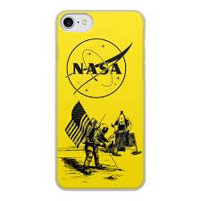 Чехол для iPhone 8, объёмная печать <b>NASA</b>   <b>НАСА</b> #2713010 в ...
