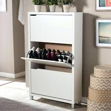 Shoe Storage Cabinet With Mirror Ikea Wayfair P. Albany Wood Shoe Storage  Cabinet With Mirror White Gloss. Modern Wood Storage Shoe Cabinet With  Doors ...