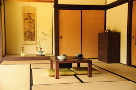 Japanese Living Room Design Comfortable Traditional Japanese Living Room Idea With Small Table