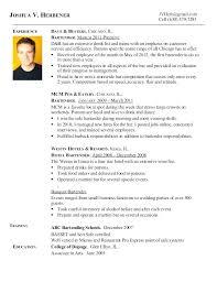 Resume For A Bartender Bartender Resume Sample Resume Genius 2 Www