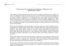 to what extent is the rule contained in the salomon v salomon document image preview