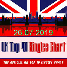 Uk Singles Chart The Official Uk Top 40 Singles Chart 26 07 2019 Music Rider