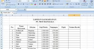 Karyawan yang tak punya npwp dikenai pajak penghasilan 120% dari tarif yang berlaku untuk pemilik npwp. Hasil Penelusuran Untuk Excel Contoh Slip Gaji