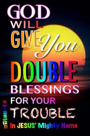 Image result for Christ Jesus Double Blessings