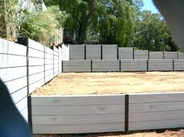 concrete retaining wall cost concrete retaining wall cost calculator photo 4 of 7 concrete sleeper wall concrete retaining wall cost