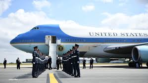 Trump Air Force One Design Trump To Paint Air Force One Red White And Blue Time