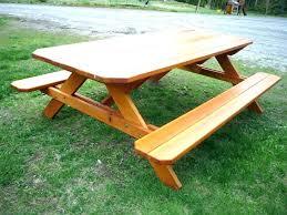 home depot picnic table kit picnic table kit bench lifetime plastic picnic tables octagon wood picnic