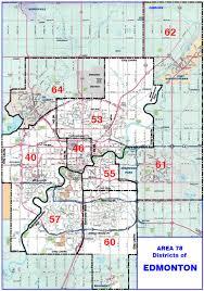 edmonton aa maps Maps Edmonton map of edmonton districts maps edmonton alberta canada