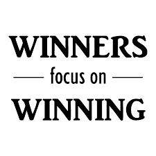 Winning Quotes Best Winners Focus On Winning Wall Quotes™ Decal WallQuotes