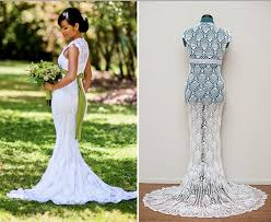 Crochet Wedding Dress Pattern Simple 48 Amazing Crochet Wedding Dresses Beautiful Crochet Stuff