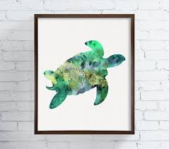 on turtle wall art painting with sea turtle wall art sea turtle painting sea turtle wall