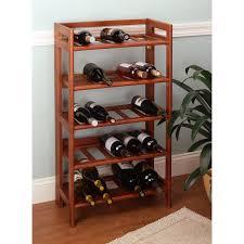 Image of: Top Wooden Wine Racks